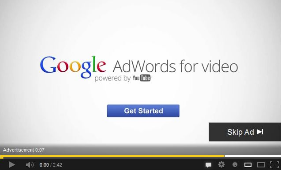 adwords video ads