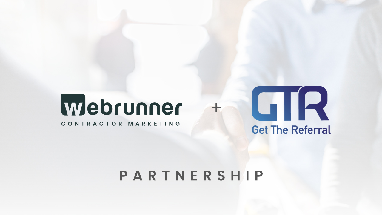 Get The Referral and Webrunner Partnership Announcement