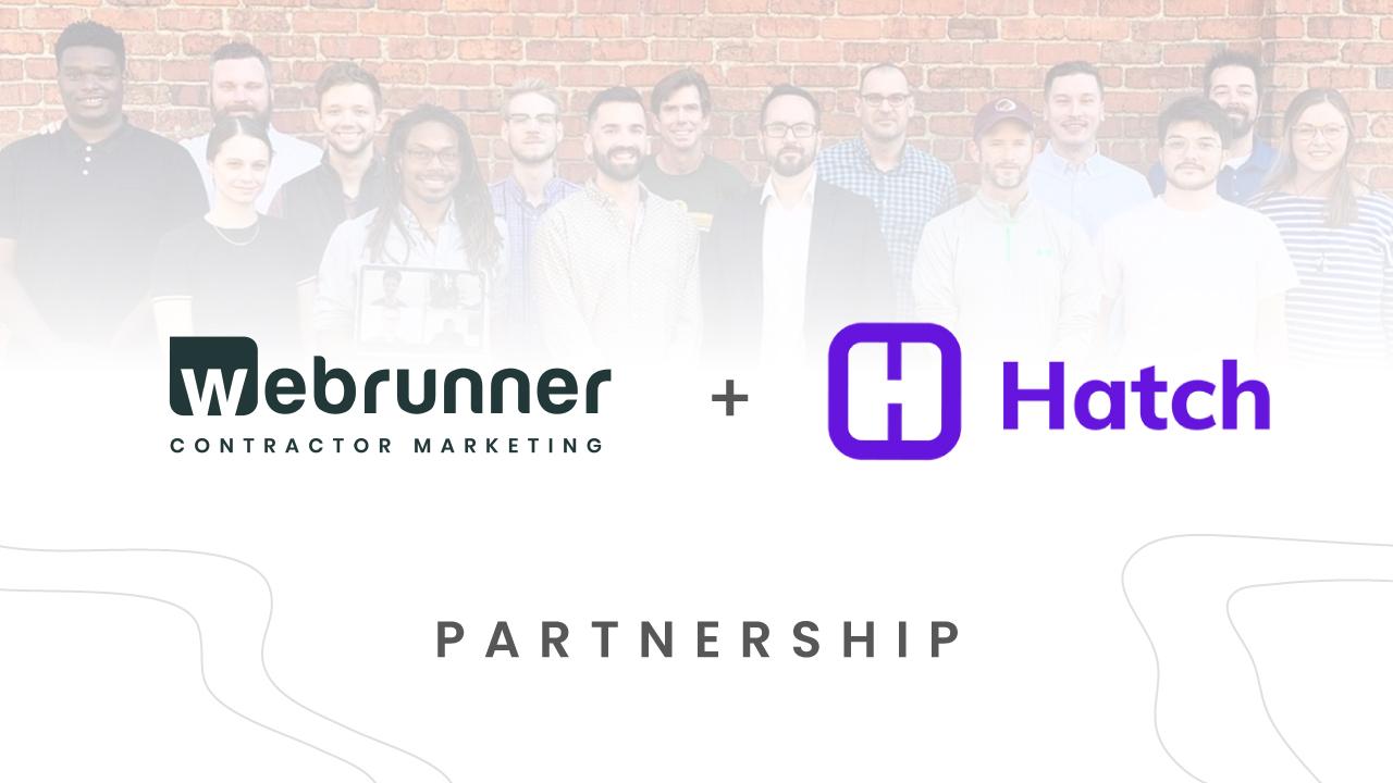 Webrunner and hatch partnership
