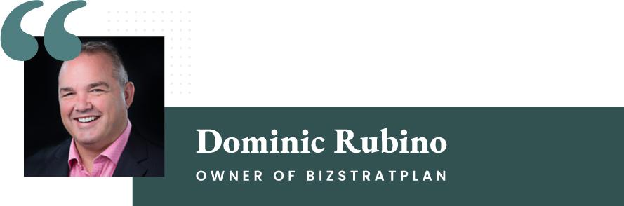 Dominic Rubino - Owner of BizStratPlan