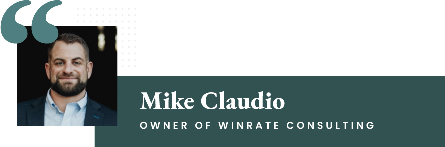 Mike Claudio - Owner of WinRate Consulting
