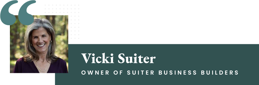 Vicki Suiter - Owner of Suiter Business Builders