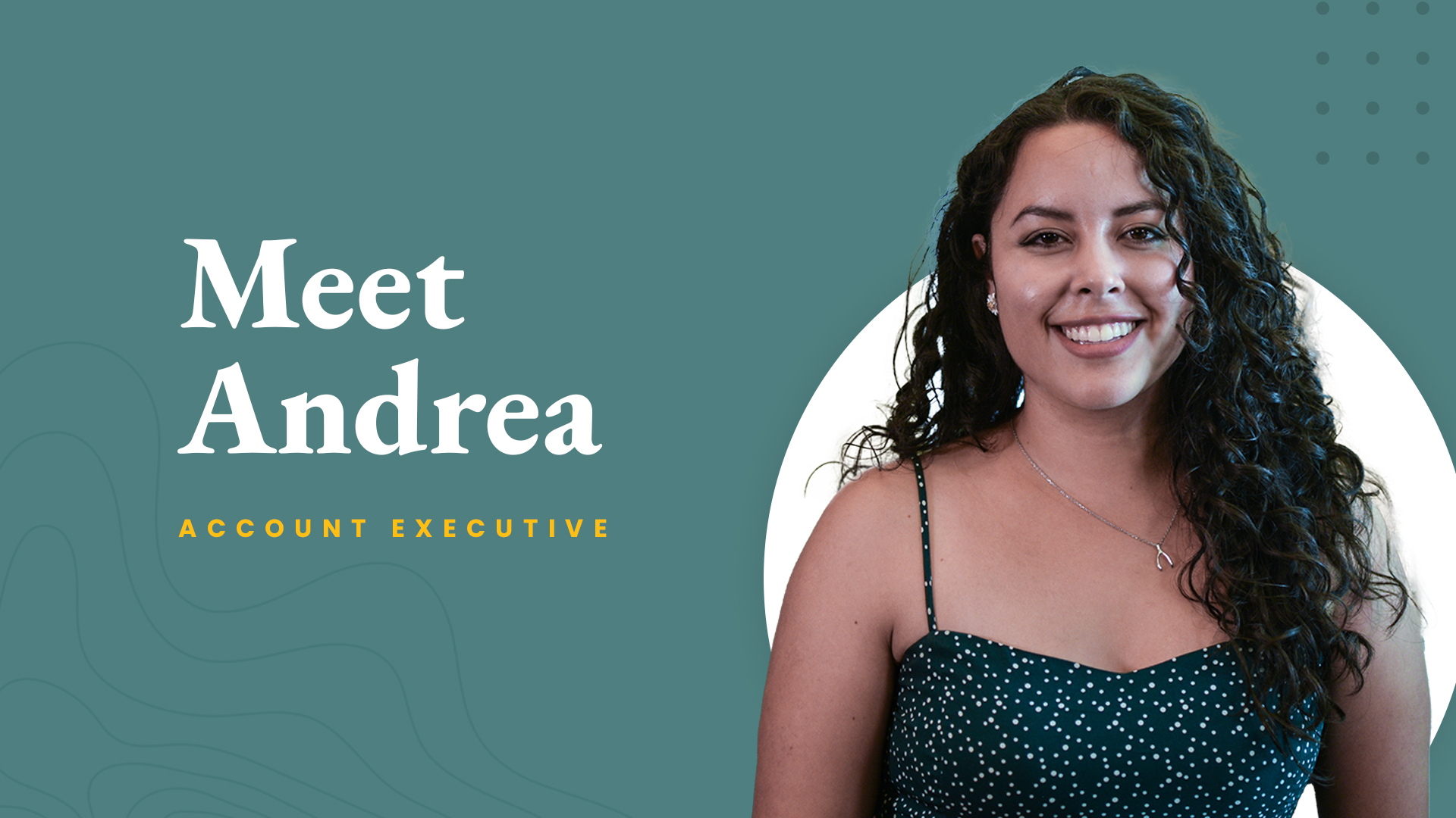 Meet The Crew: Andrea