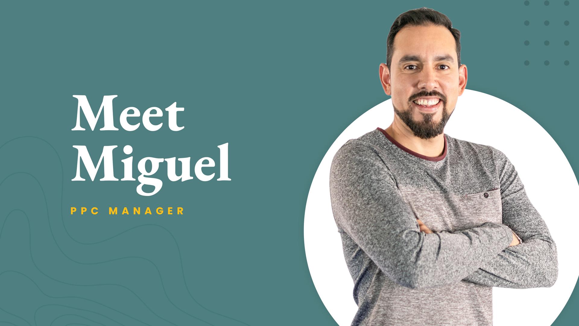 Webrunner Media - Meet the Crew: Miguel