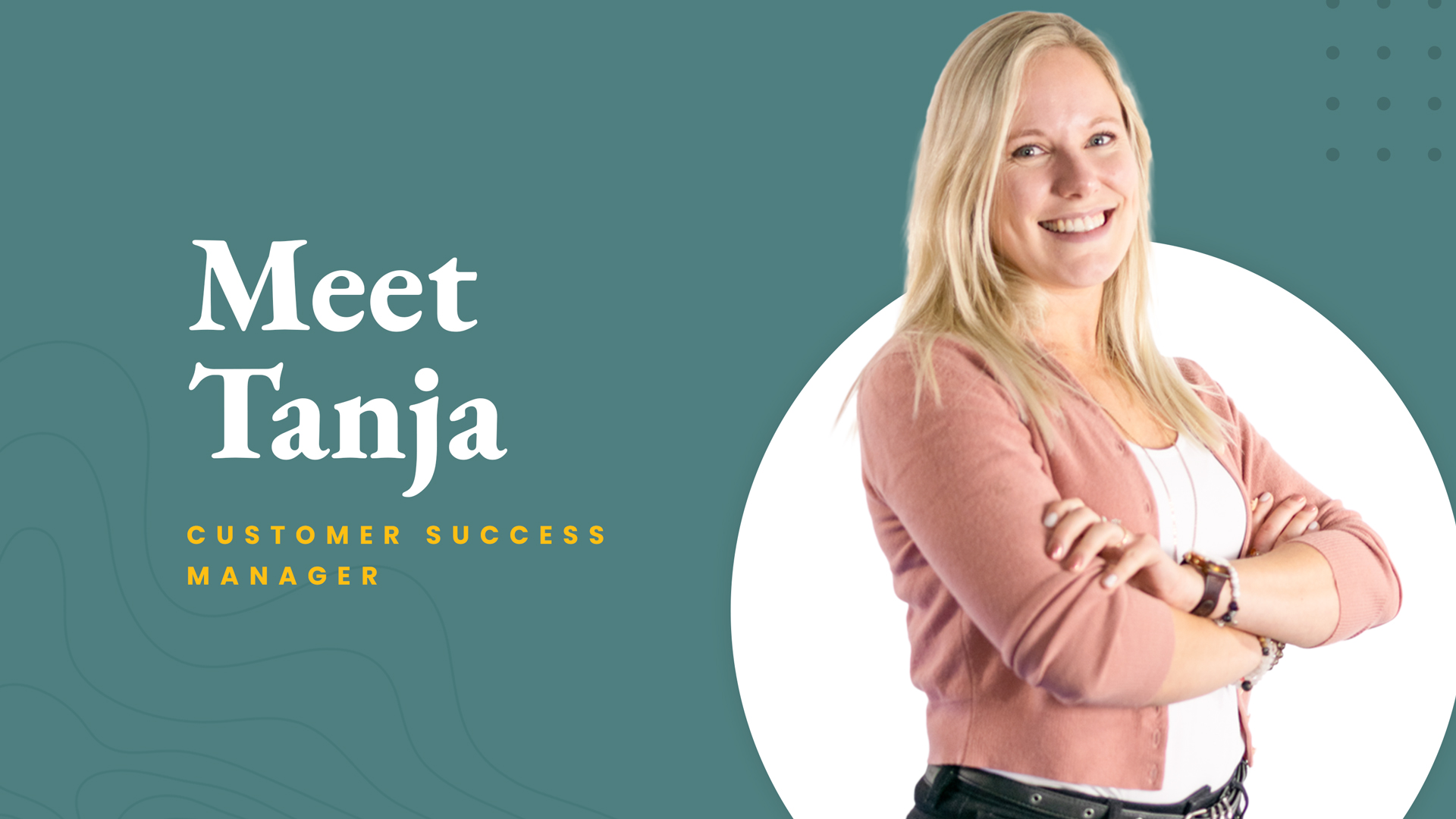Meet The Crew: Tanja Andersson