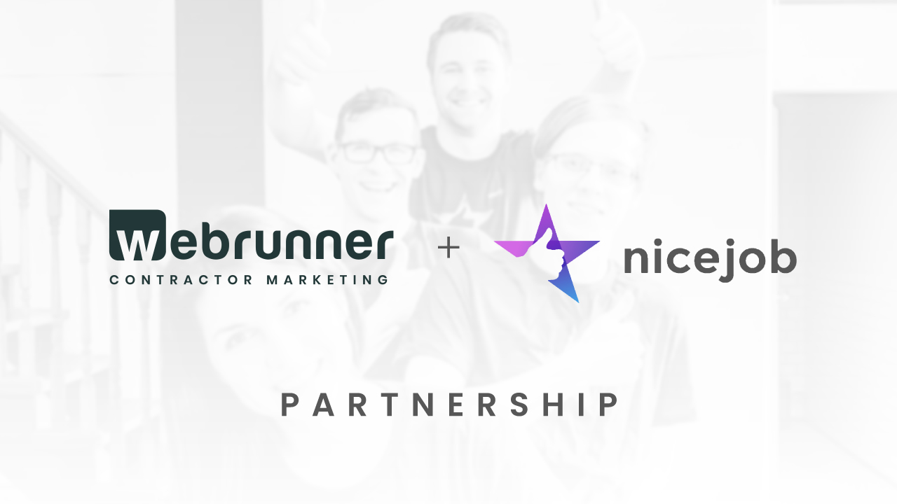 Webrunner Media + NiceJob Partnership