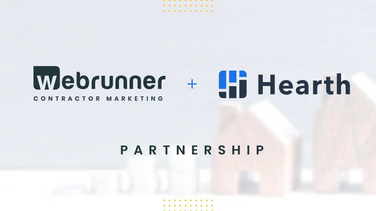 Hearth and Webrunner Partnership Announcement