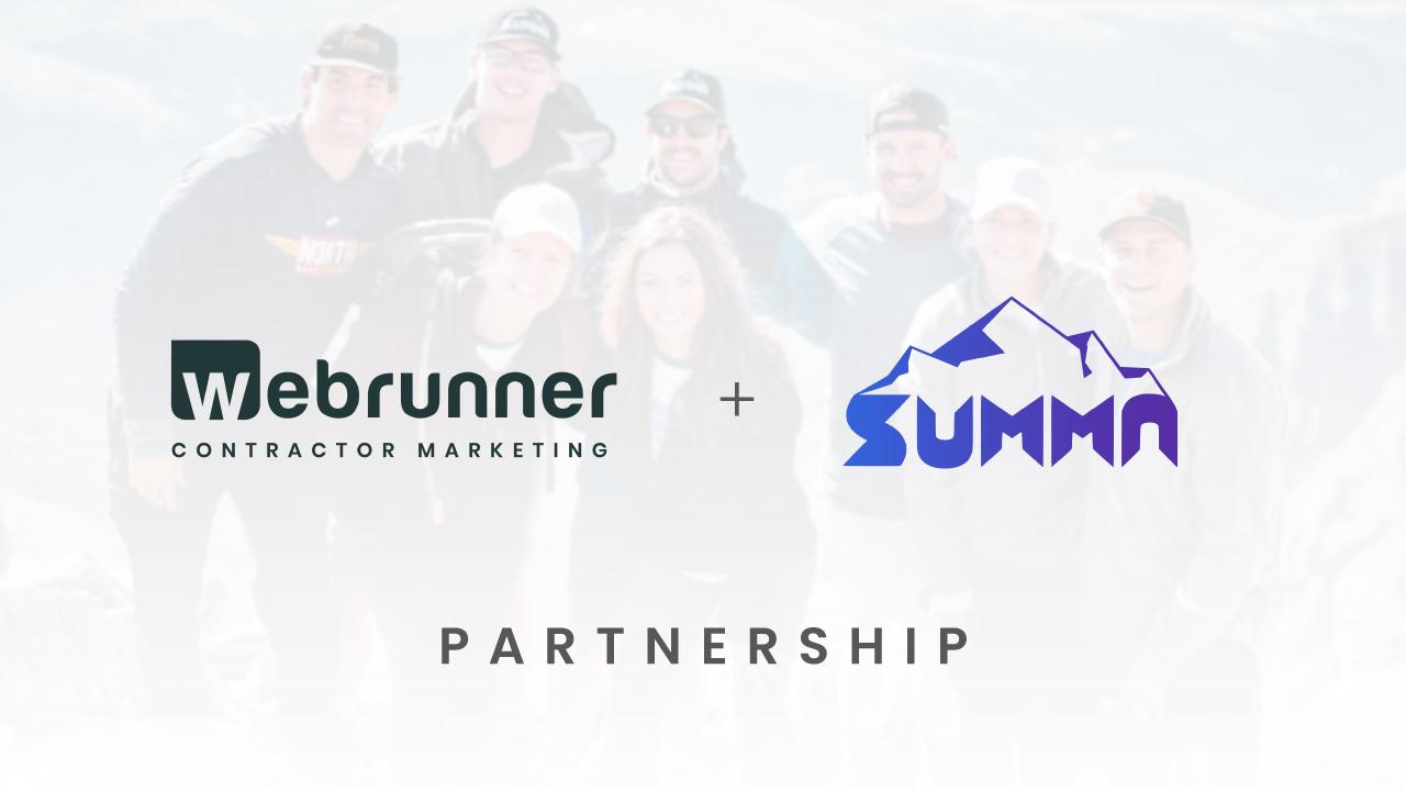 Webrunner and Summa Media Partnership Announcement
