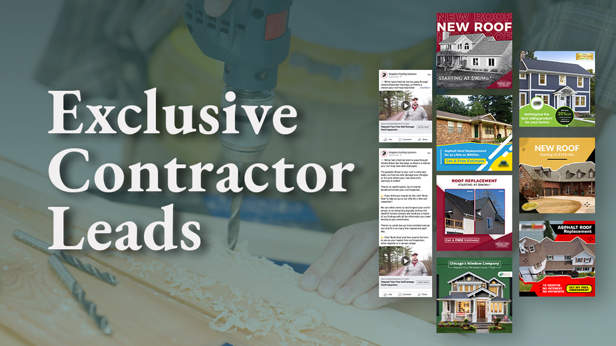 Exclusive Home Improvement Leads with Webrunner Contractor Marketing