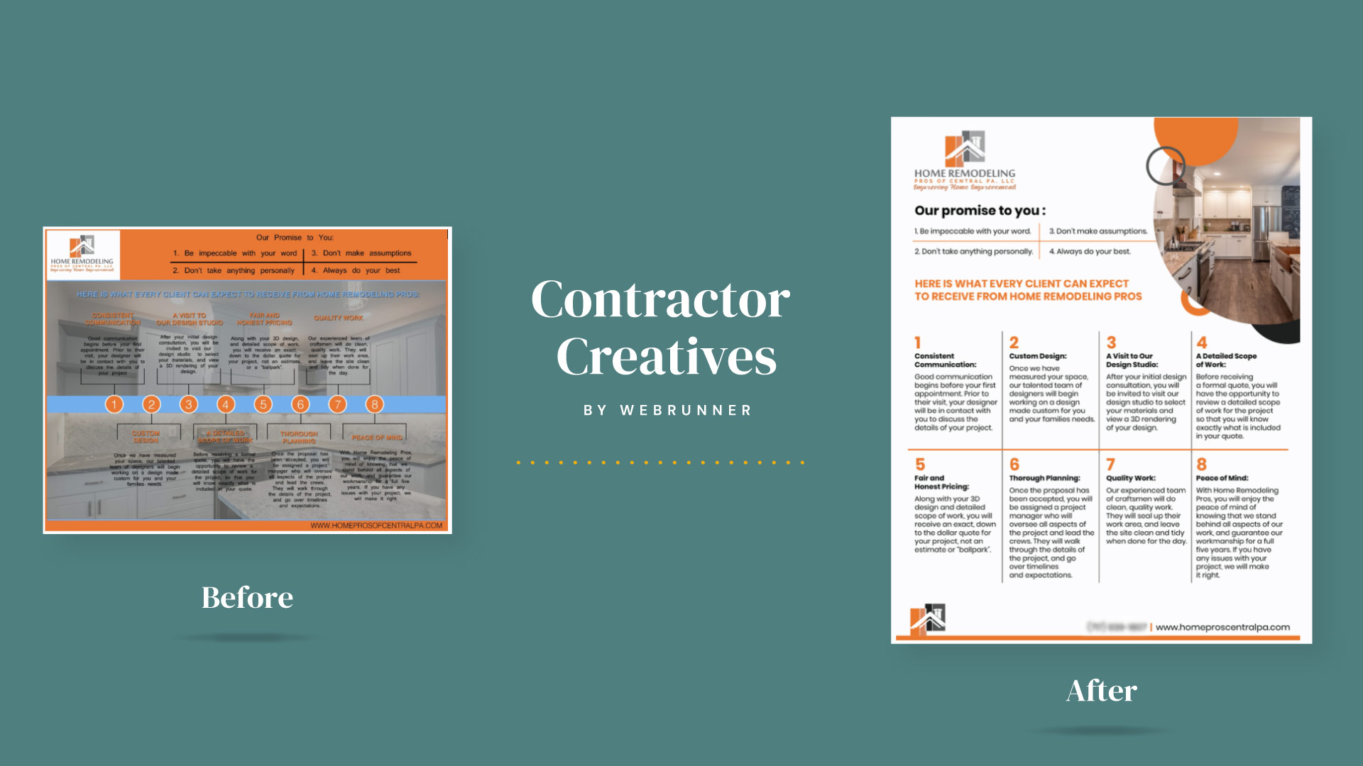 Next step: Contractor Creatives